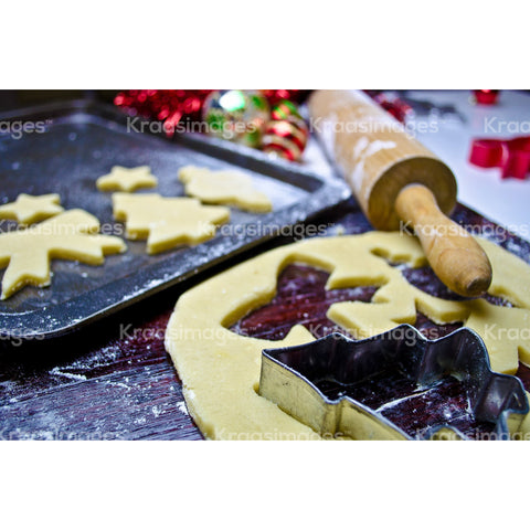 Christmas cookie cutouts