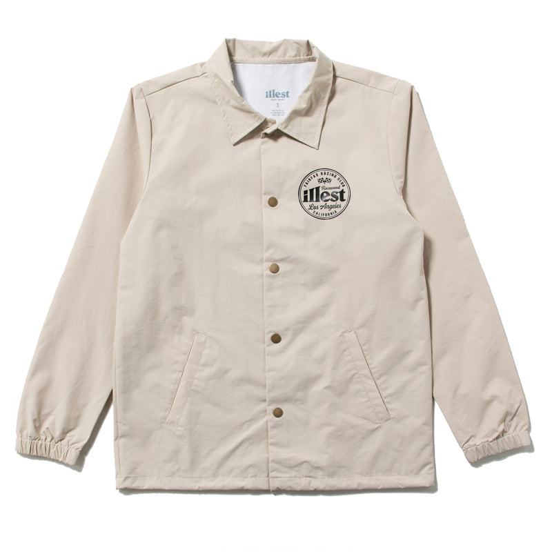 FAIRFAX COACH JACKET - BROWN