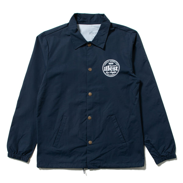 FAIRFAX COACH JACKET - BLUE