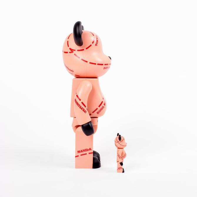 ILLEST BE@RBRICK MEDICOM TOY 400%/100%