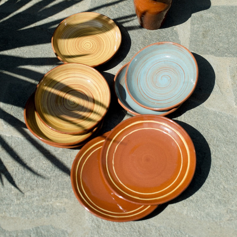 Catalan plates (set of 4)