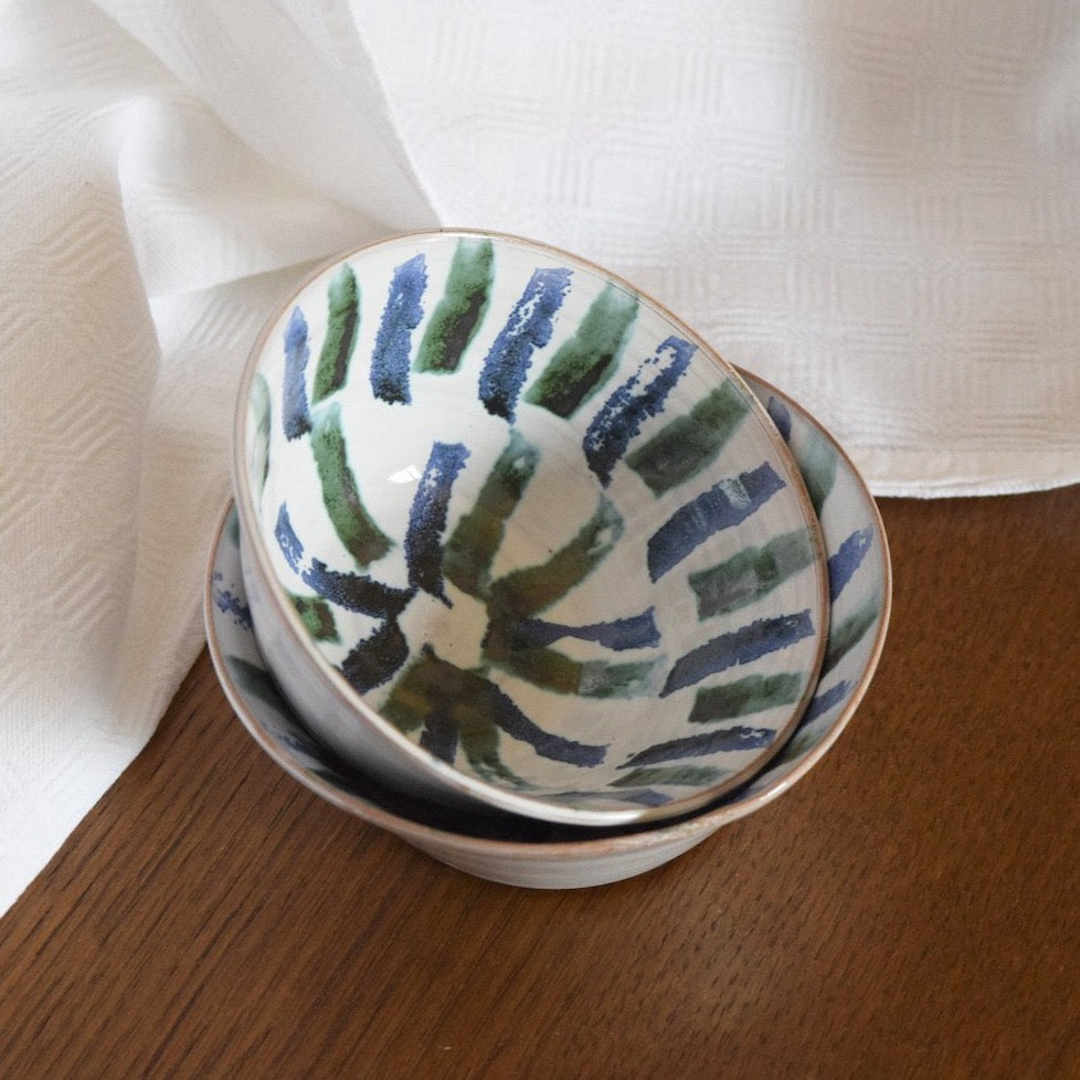 Set of 2 bowls - Blu Elegance
