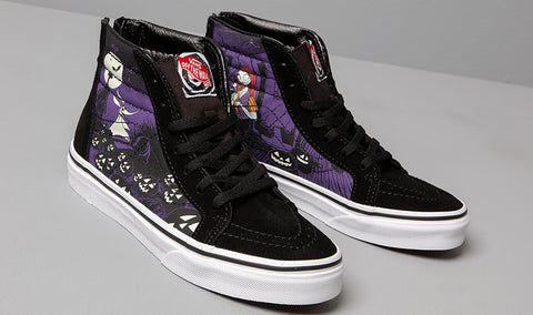 SK8 HI ZIP X NIGHTMARE BEFORE CHRISTMAS KIDS