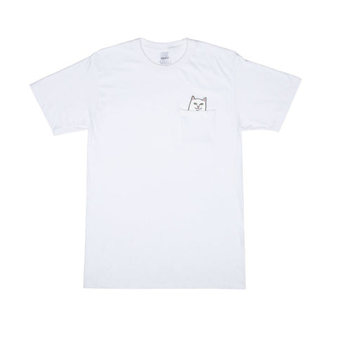 LORD NERMAL POCKET TEE WHITE