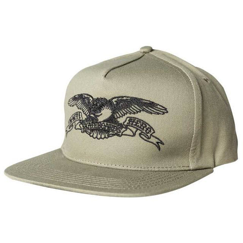 BASIC EAGLE KHAKI/BLACK CAP