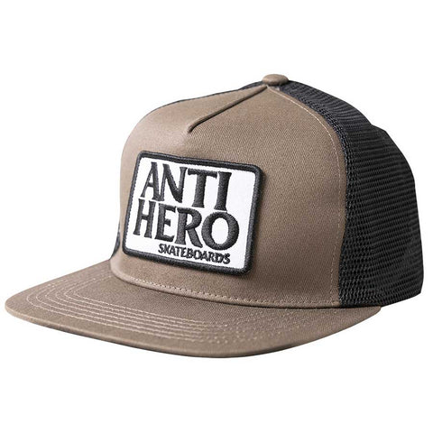 RESERVE PATCH BROWN TRUCKER CAP