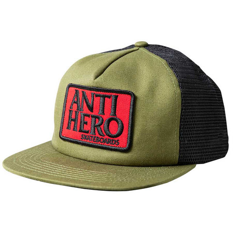 RESERVE PATCH OLIVE TRUCKER CAP