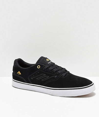 THE REYNOLDS LOW VULC BLACK W GOLD