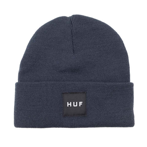 BOX LOGO BEANIE FRENCH NAVY