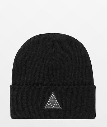 ESSENTIALS TRIPLE TRIANGLE BEANIE BLACK