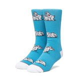 MAKIN BACON SOCKS GREEK BLUE
