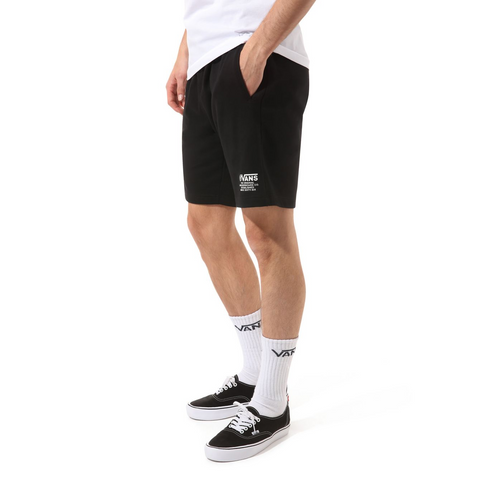 DISTORT TYPE FLEECE SHORT BLACK