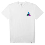 PRISM TRIPLE TRIANGLE WHITE TEE