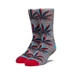 STATIC PLANTLIFE SOCK GREY HEATHER
