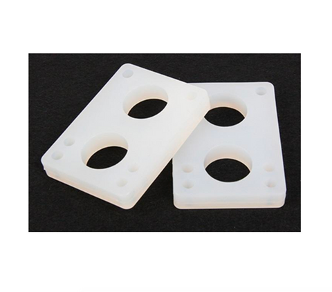 "1/2"" (12MM) SOFT RISER PAD TRANSPARENT"