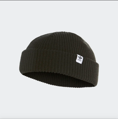 SHORTY BLACK/WHITE BEANIE