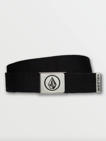 CIRCLE WEB BELT BLACK