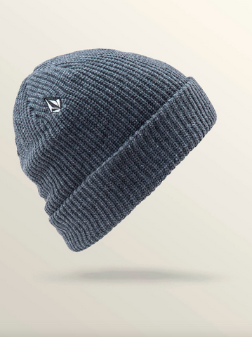 FULL STONE BEANIE CHARCOAL HEATHER