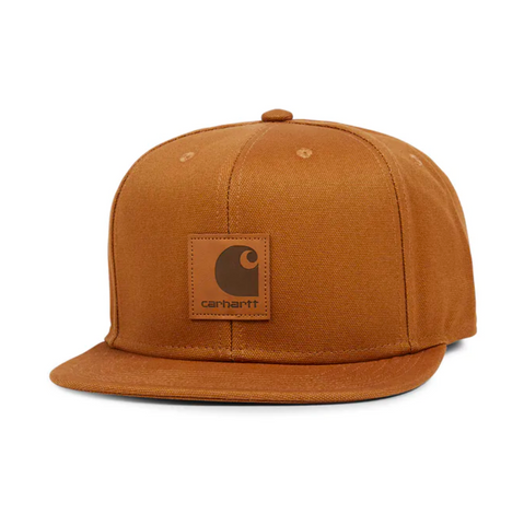 LOGO CAP COTTON CANVAS HAMILTON BROWN