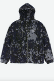 ABSTRACT JACKET SHERPA CAMO BLACK