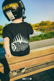 OG FLAMES KIDS BLACK