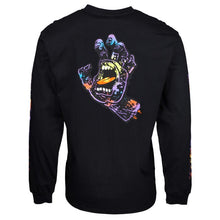 Load image into Gallery viewer, HAND SPLATTER L/S BLACK