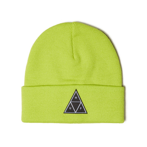 TRIANGLE TUFF BEANIE BIO LIME