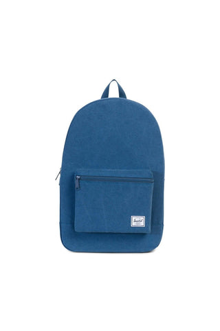 PACKABLE DAYPACK NAVY COTTON