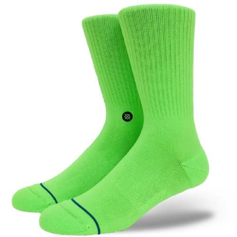 ICON NEON GREEN SOCKS