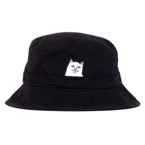 LORD NERMAL BUCKET HAT BLACK