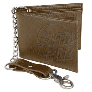 OPUS DOT CHAIN WALLET BROWN