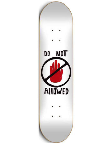 BRAD STABA DO NOT ALLOWED 8.5""
