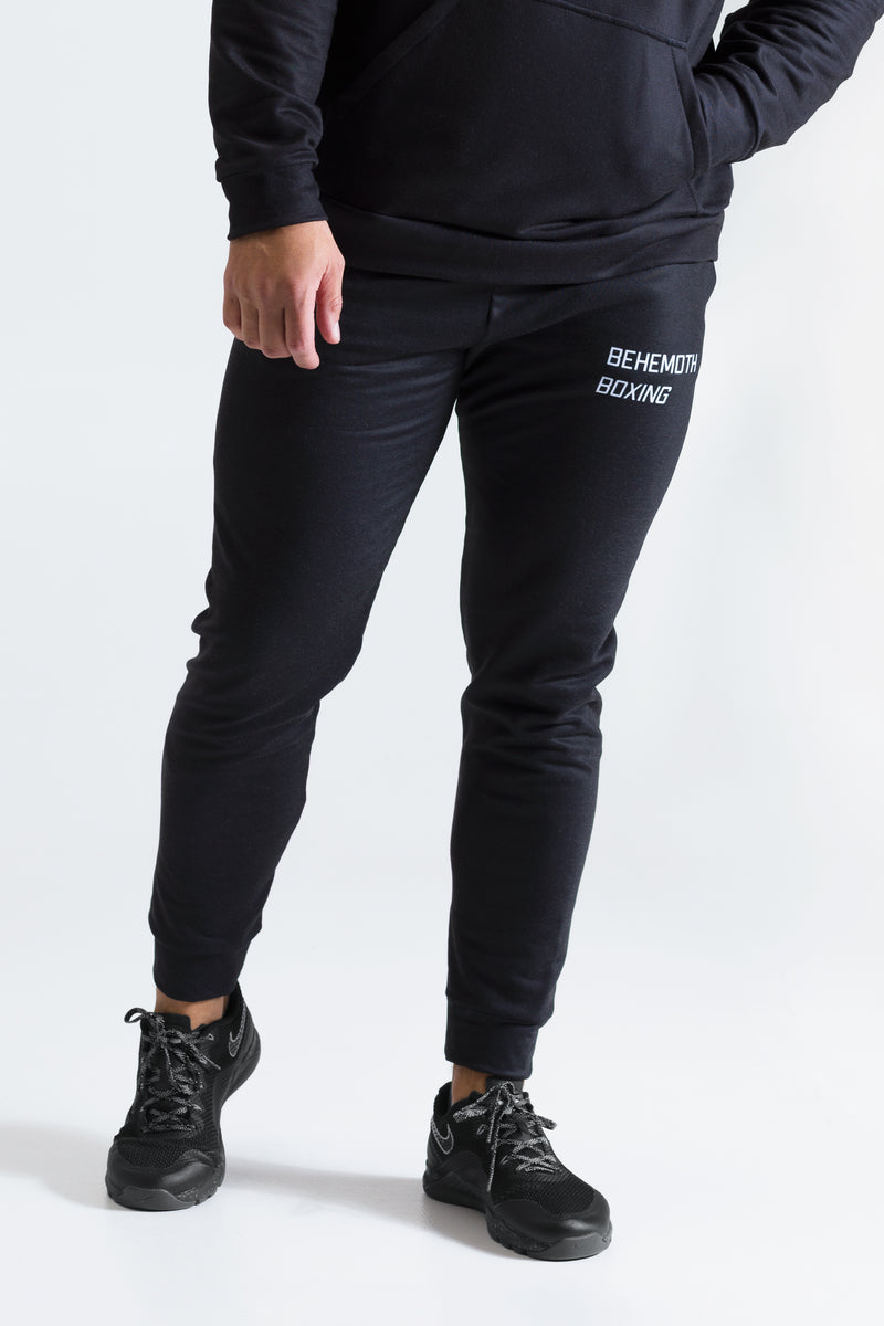 Behemoth Boxing Tracksuit Bottoms - Black - Behemoth Boxing