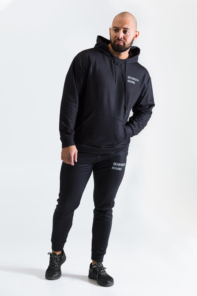 Behemoth Boxing Tracksuit Hoodie - Black - Behemoth Boxing