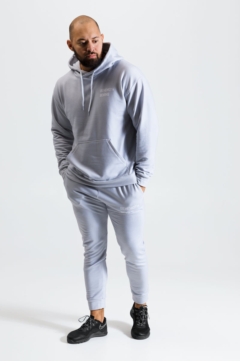 Behemoth Boxing Tracksuit Hoodie - Grey - Behemoth Boxing