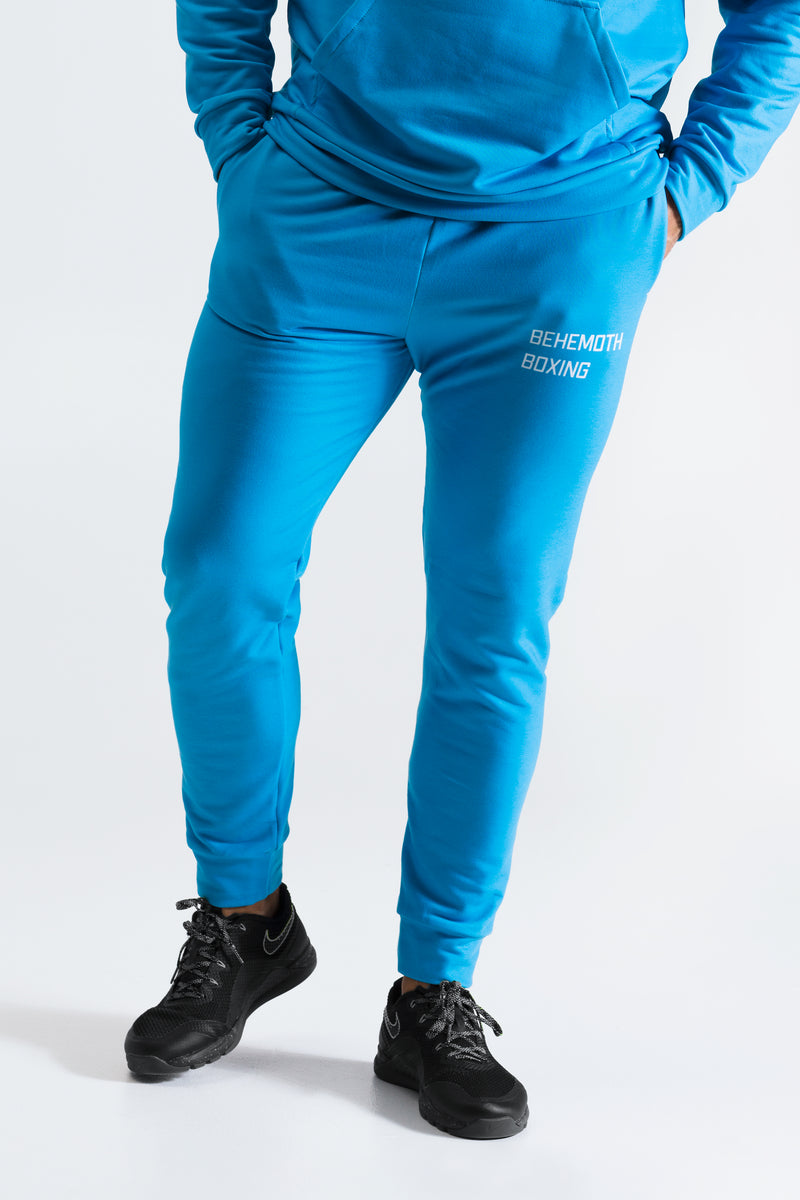 Behemoth Boxing Tracksuit Bottoms - Indigo - Behemoth Boxing