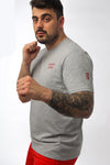 Technician Tee - Grey - Behemoth Boxing