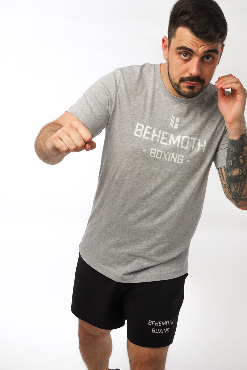 Original Tee - Grey - Behemoth Boxing