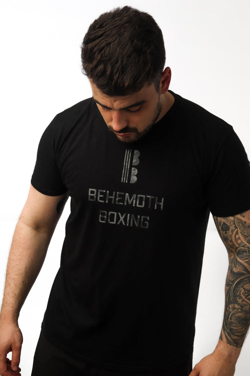 Ares Tee - Midnight - Behemoth Boxing