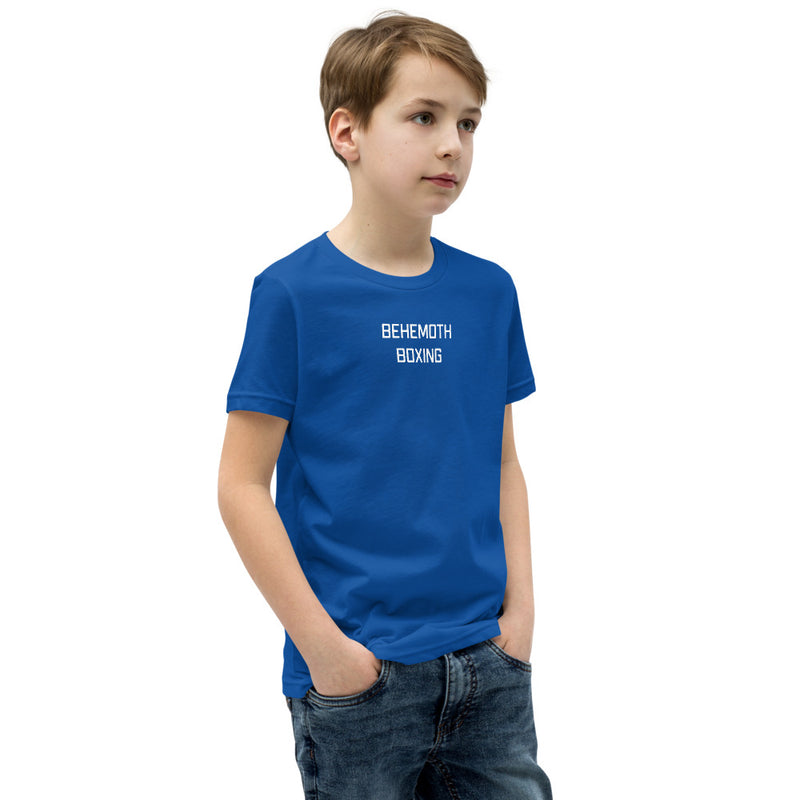 Behemoth Junior T-Shirt - Royal Blue - Behemoth Boxing