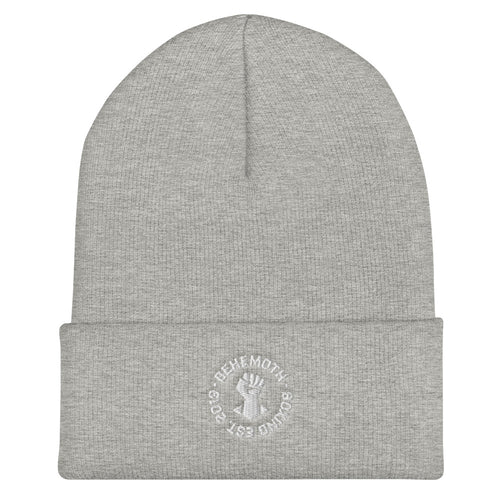 Beanie - Grey - Behemoth Boxing