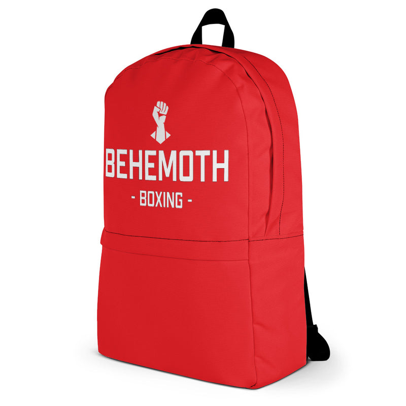 Behemoth Boxing Glove Bag - Red - Behemoth Boxing