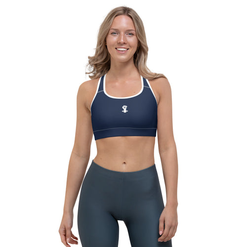 Sports Bra - Navy - Behemoth Boxing