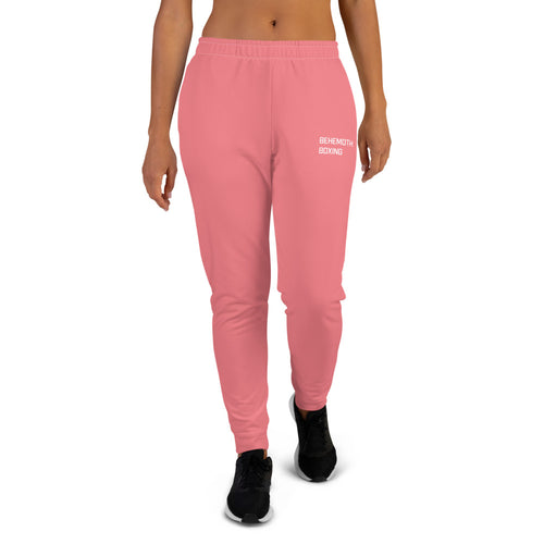 Behemoth Boxing Tracksuit Bottoms - Pink - Behemoth Boxing