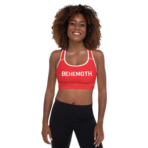 Behemoth Padded Sports Bra - Behemoth Boxing