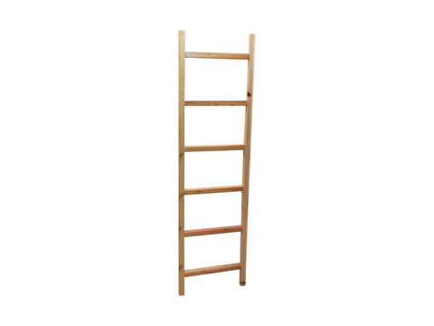 "6' Cedar Ladder Trellis 20"" Wide, Plant Support Structure 