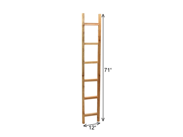 "6' Cedar Ladder Trellis 12"" Wide, Plant Support Structure 