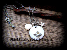 Load image into Gallery viewer, Nautical Sea Glass Necklace
