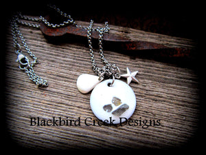Nautical Sea Glass Necklace