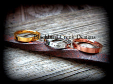 Load image into Gallery viewer, Stacking Ring, Rose Gold, Personalized
